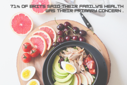 71% brits saw family's health as primary concern stat infographic