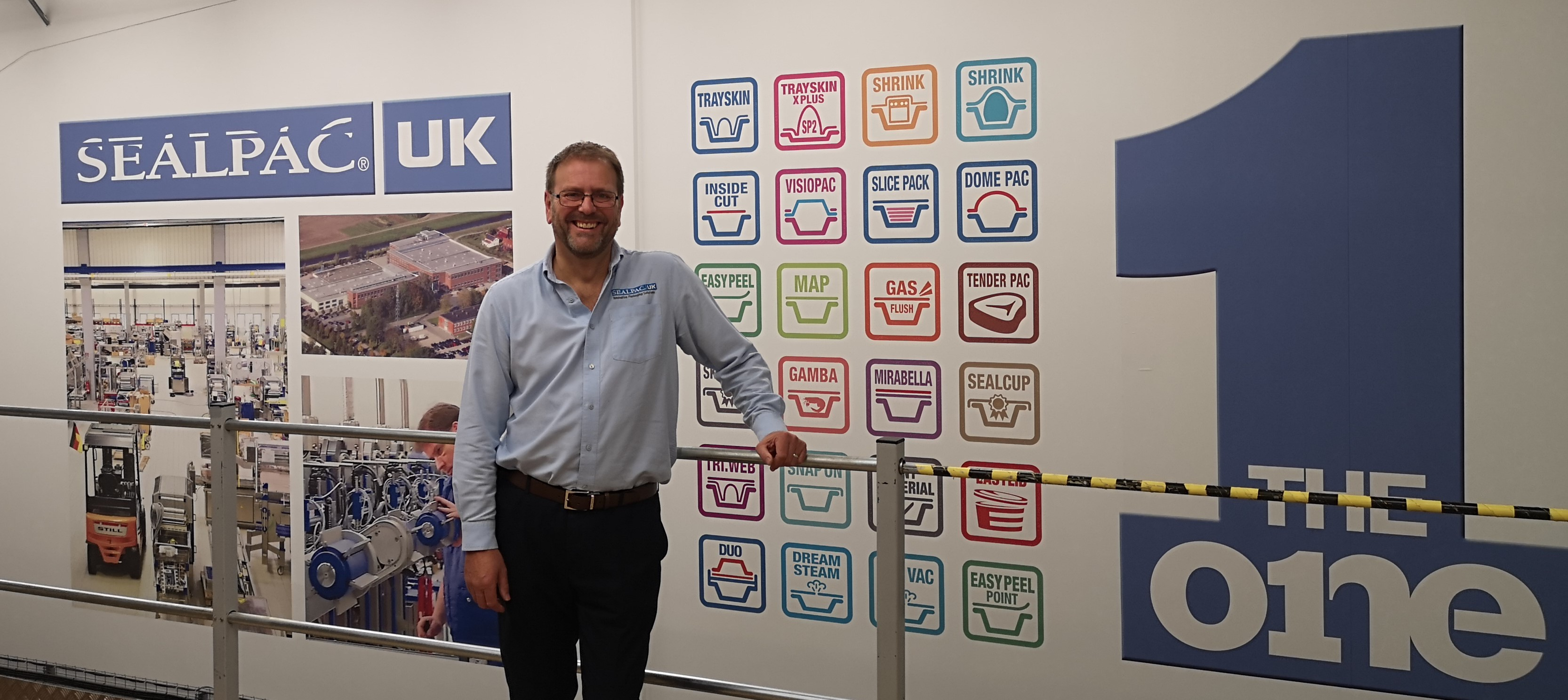 Mark Parris, Head of HR and Finance at Sealpac UK & Partners