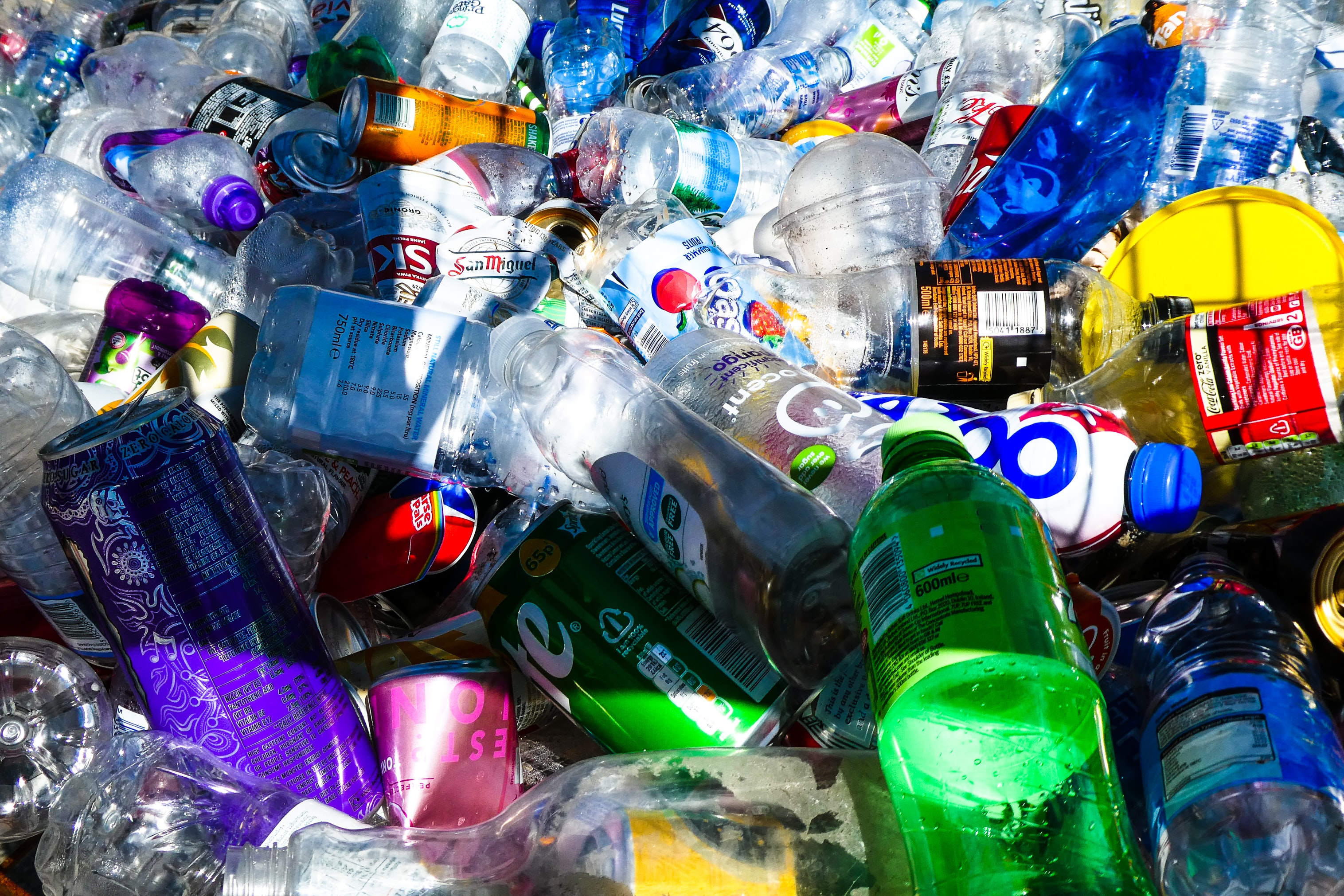 Stock   Packaging   Plastic bottles, recycling, waste