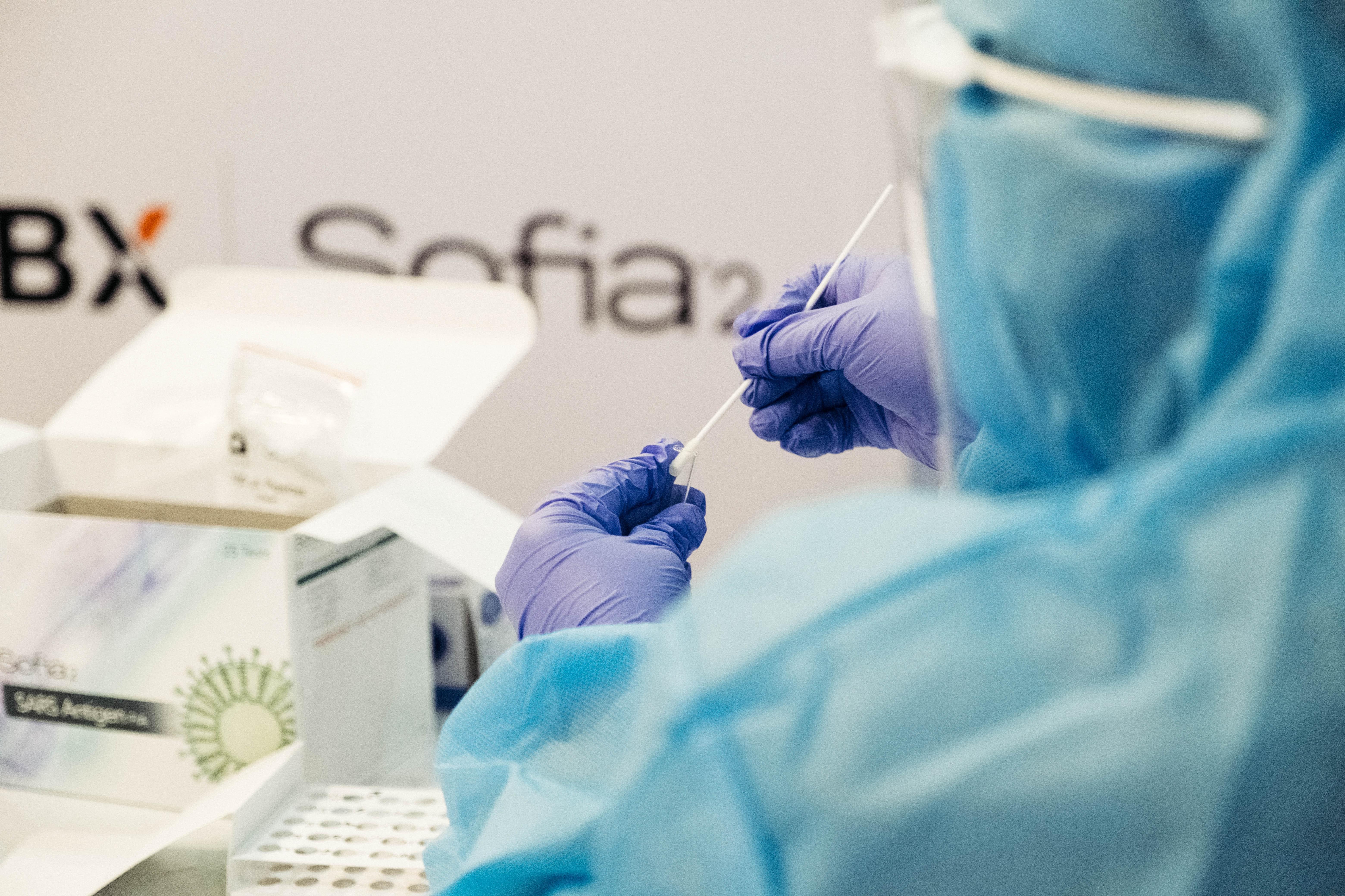 Stock | covid test, coronavirus