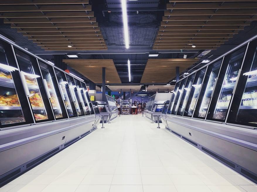 Stock | retail, supermarket, frozen food