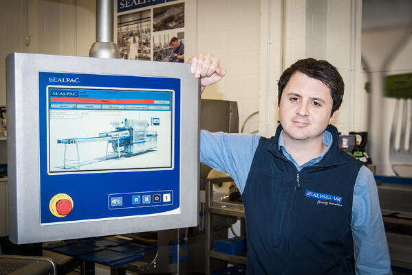 Sealpac Spares and Training Manager Luke Witheford