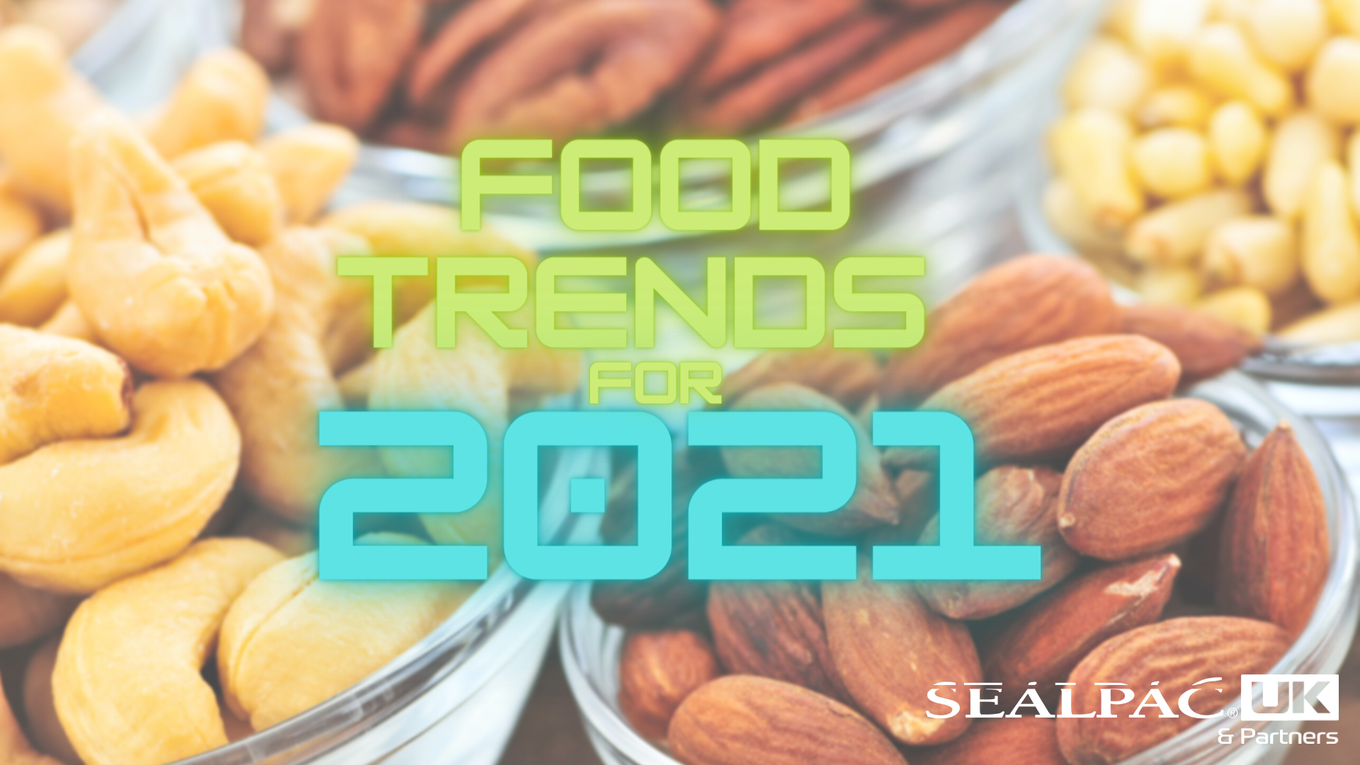 Food Trends for 2021 graphic
