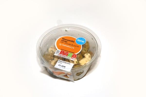 Sainsbury manzanillaolives pot