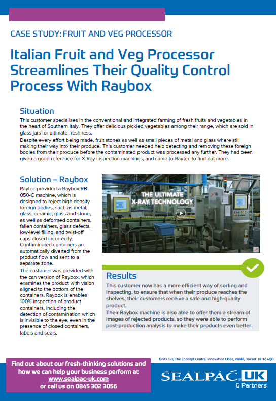 Italian Fruit and Veg Processor Streamlines Their QA Process case study preview image